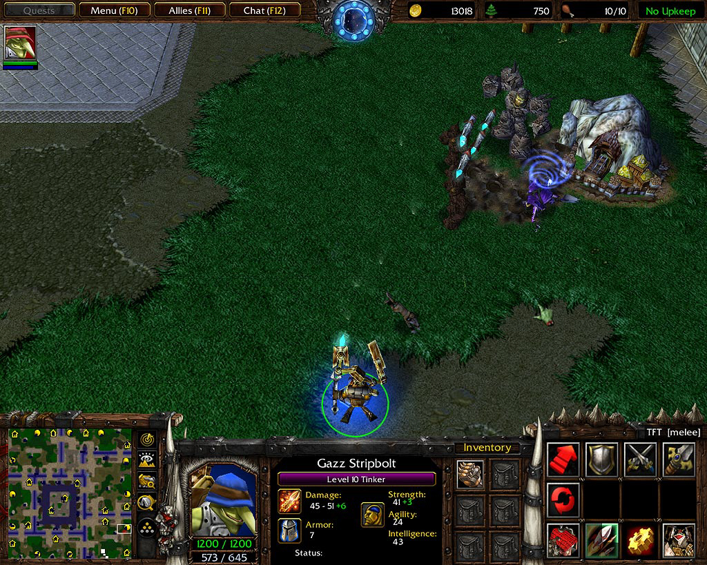 Download Warcraft 3 The Frozen Throne Patch v1.22a now from AusGamers. .