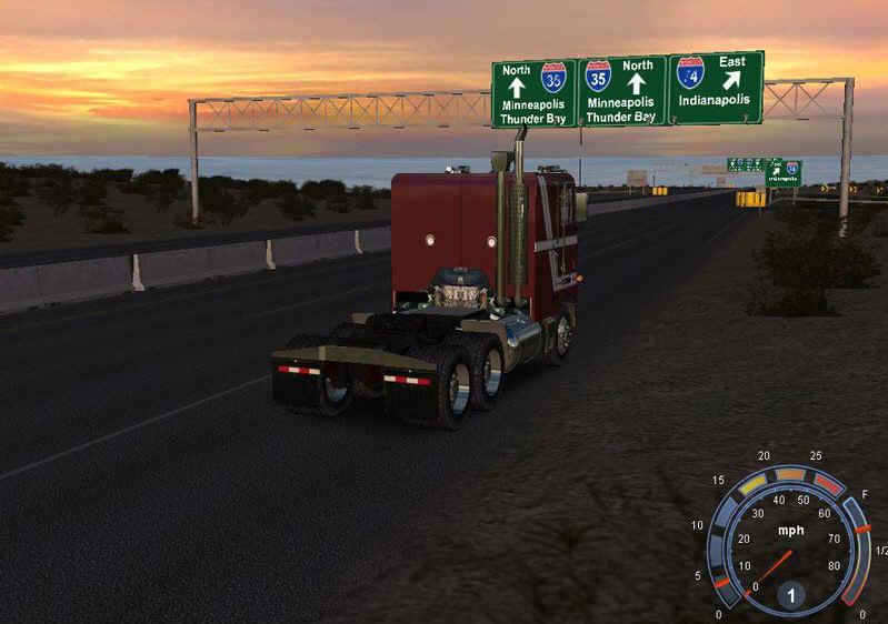 18 wheels of steel haulin dodatki