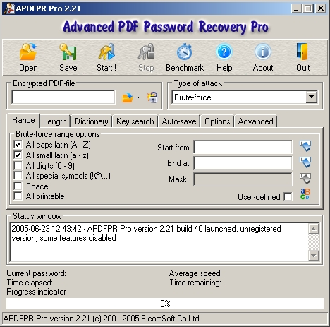 Скачать Advanced RAR Password Recovery (ARPR) RUS - программа для.