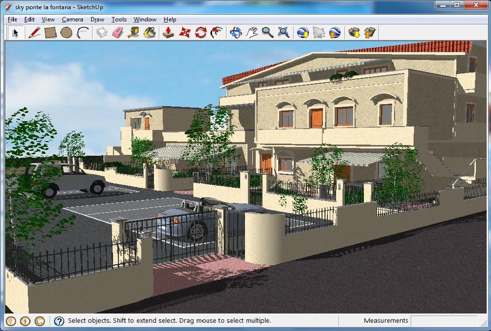 Google sketchup projects - 933