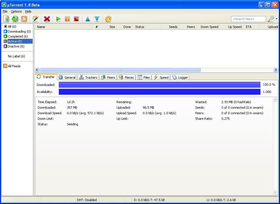 скачать utorrent 2.2 - фото 5