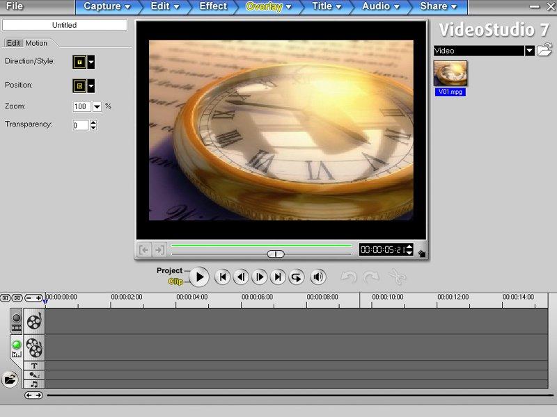 Ulead Media Studio 7 0