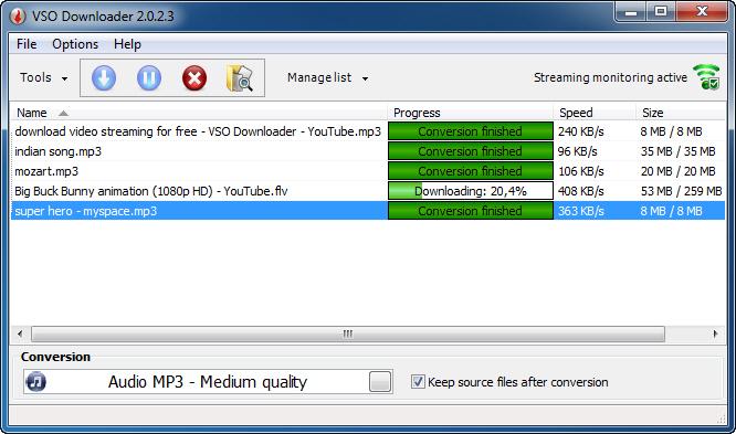 لا حاجة للدونلود مانجر بعد اليوم مع أسطورة التحميل VSO Downloader 2.9.7.8