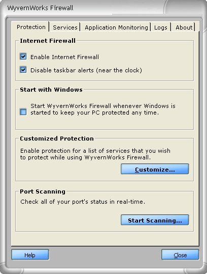 WyvernWorks Firewall
