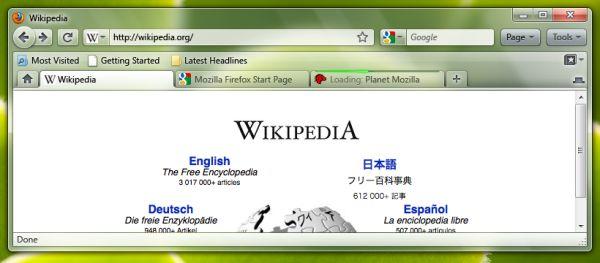 Firefox ze Wstążką?