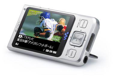 Video Walkman Sony z obsługą systemu telewizji mobilnej OneSeg