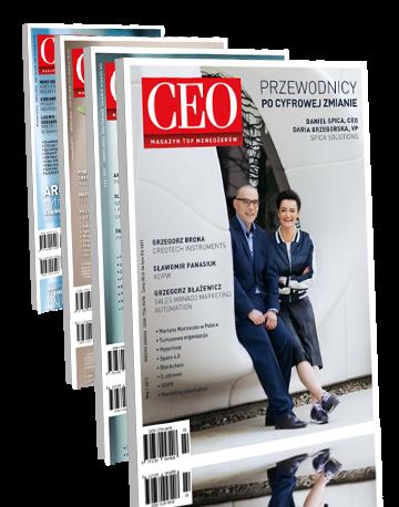 Prenumerata roczna CEO