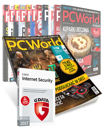 PC World drukowany - prenumerata roczna + GData Internet Security